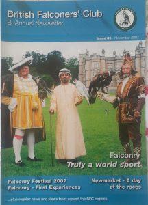 British Falconers Club newsletter